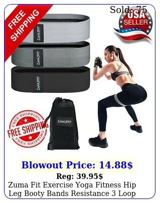 zuma fit exercise yoga fitness hip leg booty bands resistance loop workout se