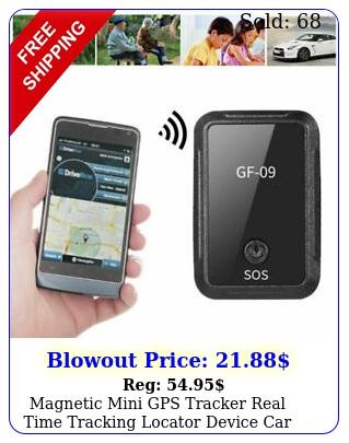 magnetic mini gps tracker real time tracking locator device car spy gsm gprs u