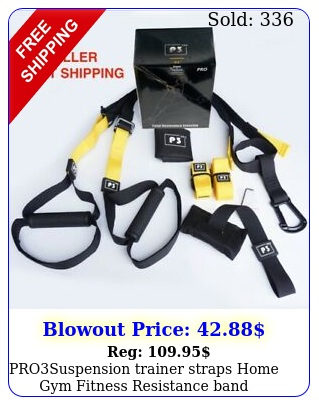 prosuspension trainer straps home gym fitness resistance band trainin