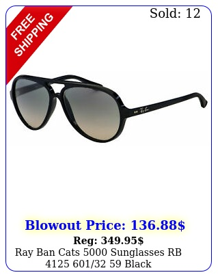 ray ban cats sunglasses rb  blac