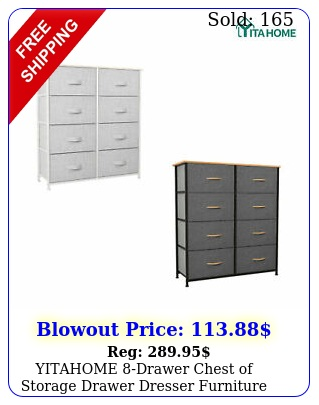 yitahome drawer chest of storage drawer dresser furniture bedroom organize