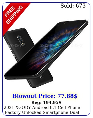 xgody android cell phone factory unlocked smartphone dual sim quad cor