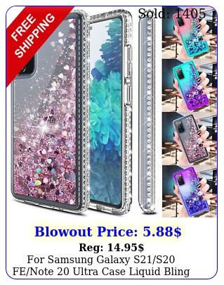samsung galaxy ss fenote ultra case liquid bling luxury phone cove