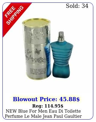 blue men eau di toilette perfume le male jean paul gaultier oz by k