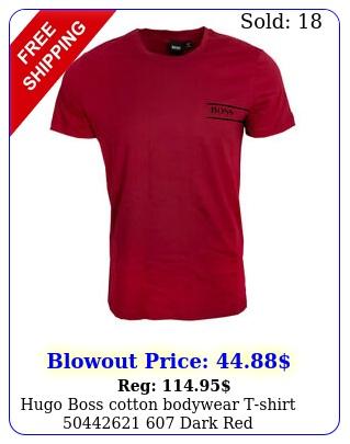 hugo boss cotton bodywear tshirt  dark re