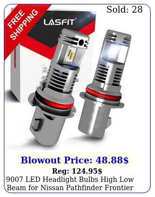 led headlight bulbs high low beam nissan pathfinder frontie
