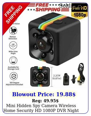 mini hidden spy camera wireless home security hd p dvr night visio
