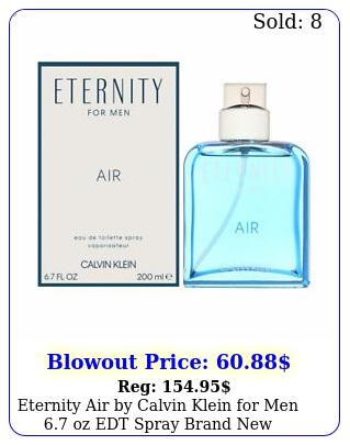eternity air by calvin klein men oz edt spray bran