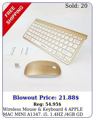 wireless mouse keyboard apple mac mini a i hz gb g