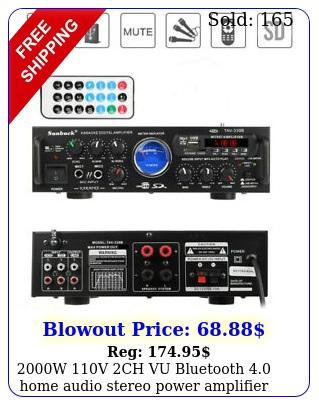 w v ch vu bluetooth home audio stereo power amplifier hifi amp fm s
