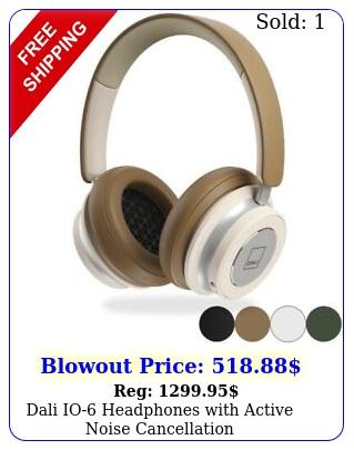 dali io headphones with active noise cancellatio