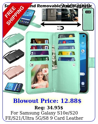 samsung galaxy ses fesultra gs  card leather wallet stand cas