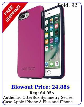 authentic otterbox symmetry series case apple iphone plus iphone plu
