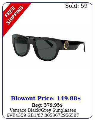 versace blackgrey sunglasses ve g