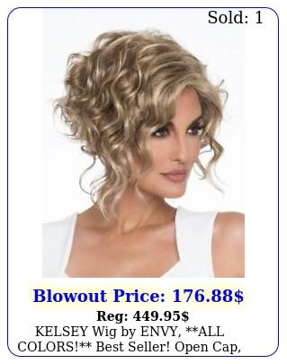 kelsey wig by envy all colors best seller open cap ne