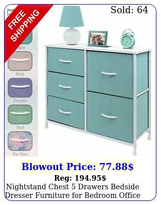 nightstand chest drawers bedside dresser furniture bedroom office organiz