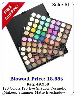 colors pro eye shadow cosmetic makeup shimmer matte eyeshadow palette ki