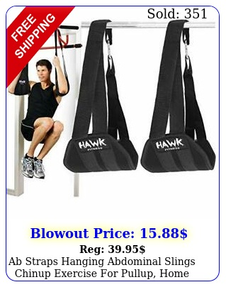 ab straps hanging abdominal slings chinup exercise pullup home gymworkou