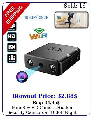 mini spy hd camera hidden security camcorder p night vision dv dvr ircu