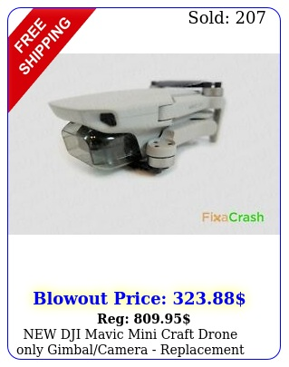 dji mavic mini craft drone only gimbalcamera replacement unit cras
