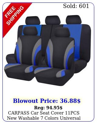 carpass car seat cover pcs washable colors universal set
