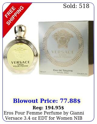 eros pour femme perfume by gianni versace oz edt women nib authenti