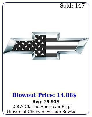 bw classic american flag universal chevy silverado bowtie vinyl sheets overla