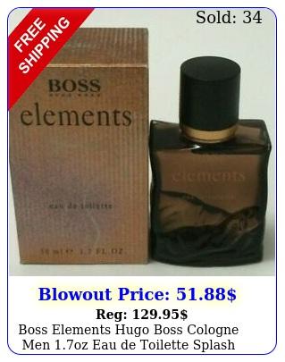 boss elements hugo boss cologne men oz eau de toilette splash vintagebox s
