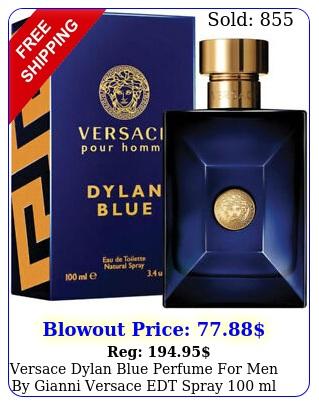 versace dylan blue perfume men by gianni versace edt spray ml oz ni