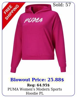 puma women's modern sports hoodie p