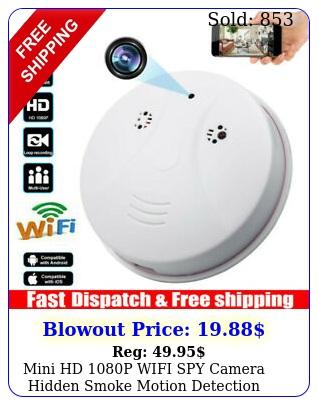 mini hd p wifi spy camera hidden smoke motion detection nanny nanny cam dv