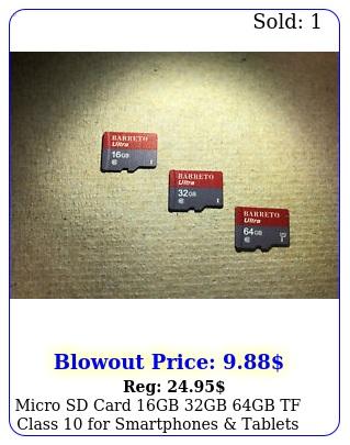 micro sd card gb gb gb tf class smartphones tablets barret