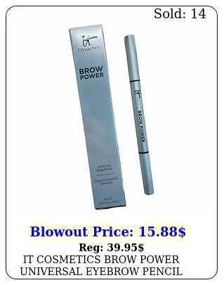 it cosmetics brow power universal eyebrow pencil nwb full size authenti