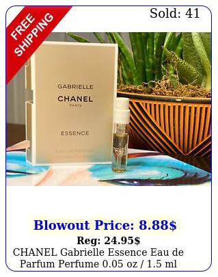 chanel gabrielle essence eau de parfum perfume oz  ml sample spra