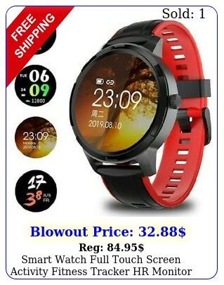 smart watch full touch screen activity fitness tracker hr monitor android io