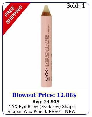 nyx eye brow eyebrow shape shaper wax pencil eb