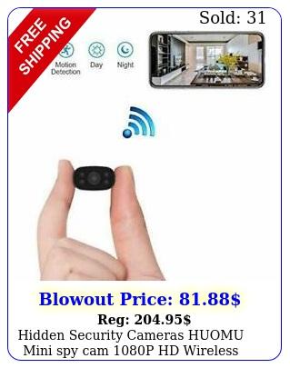 hidden security cameras huomu mini spy cam p hd wireless wifi remot