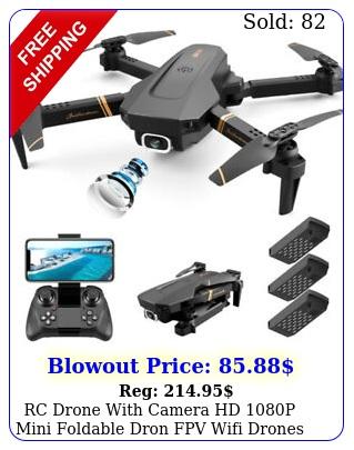 rc drone with camera hd p mini foldable dron fpv wifi drones profes