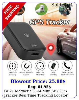gf magnetic gsm mini spy gps tracker real time tracking locator device ca