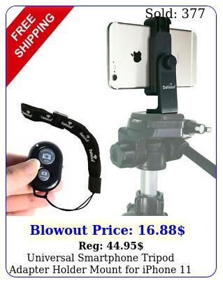 universal smartphone tripod adapter holder mount iphone pro max remot