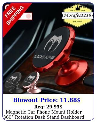magnetic car phone mount holder rotation dash stand dashboard magnet gp