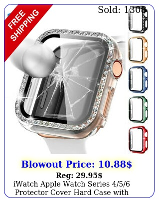 iwatch apple watch series protector cover hard case with screen mm m