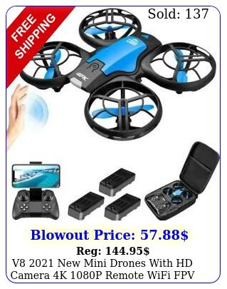 v mini drones with hd camera k p remote wifi fpv foldable rc toy