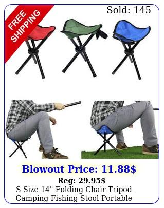 s size folding chair tripod camping fishing stool portable lightweight trav