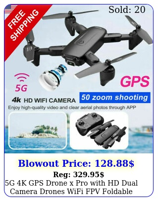 g k gps drone x pro with hd dual camera drones wifi fpv foldable rc quadcopte