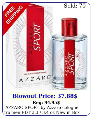 azzaro sport by azzaro cologne fro men edt  oz i