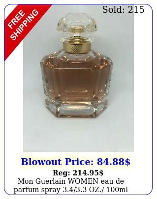 mon guerlain women eau de parfum spray oz ml n