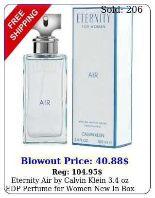 eternity air by calvin klein oz edp perfume women i