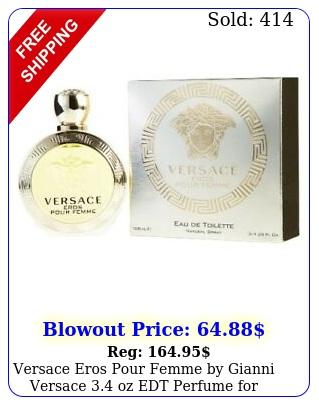versace eros pour femme by gianni versace oz edt perfume women ni