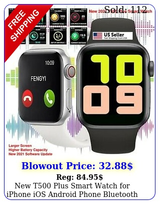 t plus smart watch iphone ios android phone bluetooth waterproo